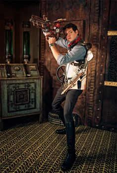 Steampunk Costume | Amazing Steampunk Ash from Evil Dead | Steampunk Costume -steamPUNK - ☮k☮