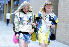 Spring London Fashion Week Street-Style Photos by Tommy Ton New York Fashion, Daily Fashion, Fashion Photo, Trendy Fashion, Fashion News, Girl Fashion, Fashion Trends, London Fashion, Style Fashion