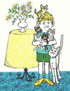 Vintage Kids' Books My Kid Loves: One Kitten For Kim
