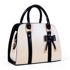 2013 New Lady women handbag little bow beige, rose leisure shoulder bag purse