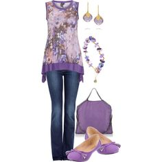 """""""amethyst tunic"""" by kswirsding on Polyvore"""