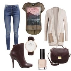 OneOutfitPerDay 2016-02-05 - #ootd #outfit #fashion #oneoutfitperday #fashionblogger #fashionbloggerde #frauenoutfit #herbstoutfit - Frauen Outfit Frühlings Outfit Herbst Outfit Outfit des Tages Catwalk Junkie Daniel Wellington Max Factor mint&berry Noisy may Tata Italia YAYA