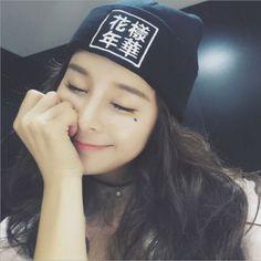 10.95$  Buy here - http://viclm.justgood.pw/vig/item.php?t=r810kf30645 - BTS Bangtan Boys hat Mood for Love Album Concert Double knitted hat k-pop bts Ko 10.95$
