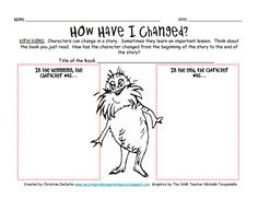 How About To Color This Beautiful Picture Of The Lorax With Pip On