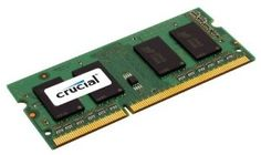 Crucial Single 8GB DDR3 1600 MT/s (PC3-12800) Notebook Module, CT102464BF160B by Crucial. Save 5 Off!. $61.68. CT102464BF160B is a single 8GB DDR3 1.35V Notebook module that operates at speeds up to 1600 MT/s and has a CL11 latency. It is dual voltage and can operate at 1.35V or 1.5V. It is Unbuffered and is non-ECC. It conforms to the industry standard SODIMM layout of 204 pins and is compatible with computers that take DDR3 SODIMM memory.