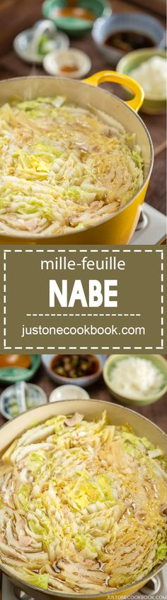 Mille-Feuille Nabe (ミルフィーユ鍋) | Easy Japanese Recipes at JustOneCookbook.com