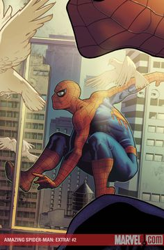 #Spiderman #Fan #Art. (AMAZING SPIDER-MAN: EXTRA!#2 Cover) By: STEPHANE ROUX.  (THE * 5 * STÅR * ÅWARD * OF: * AW YEAH, IT'S MAJOR ÅWESOMENESS!!!™)[THANK Ü 4 PINNING!!!<·><]<©>ÅÅÅ+(OB4E)