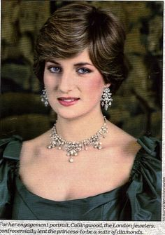 Princess Diana Spencer, official engagement photos, 1981. Uploaded By www.1stand2ndtimearound.etsy.com