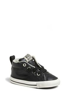 Converse Chuck Taylor® All Star®  CT AS Street  Leather Slip-On Sneaker  (Baby b97cb265ed9a5