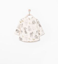 Image 1 of SHINY ANIMALS T-SHIRT from Zara