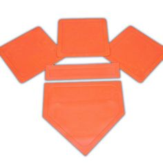 Bsn Orange Throw Down Bases (5 Piece), 2015 Amazon Top Rated Baseball #Sports