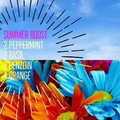 Enjoying the great summer sun outside? Bring it inside with our summer boosting diffuser blend of peppermint, basil, benzoin and orange essential oil. Basil and peppermint will energise while the orange and benzoin will help lift the mood.
