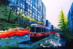 Extraordinary Brush-Less Paintings - My Modern Metropolis
