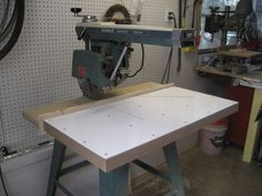 torsion box table saw - Have to do this!
