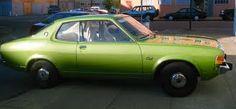 NR 7 -1976 dodge colt green - post-Navy Road Warrior