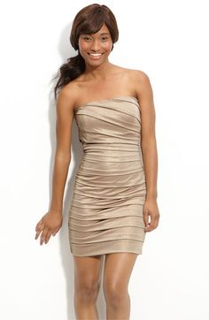 Cute champagne dress on sale at Nords.