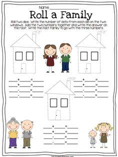 Fun in First Grade: Math Facts Second Grade Math, First Grade Classroom, Math Classroom, Kindergarten Math, Grade 2, Classroom Ideas, Bilingual Classroom, Teaching Math, Math Resources