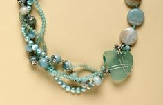 Nature's treasures.  Find more projects on BeadStyleMag.com