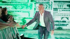 SmackDown LIVE Commissioner Shane McMahon and SmackDown LIVE General Manager Daniel Bryan discuss the WrestleMania WWE Championship picture to kick off SmackDown LIVE. Mcmahon Family, Shane Mcmahon, Stephanie Mcmahon, Daniel Bryan, Champion, Wrestling News, Triple H, Wwe News, Wwe Superstars