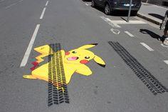 big ben street art - Pok is dead en accord avec Pokemon go