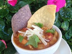 White bean Chicken Chili is going to be on the winter menu at Brick Alley Pub this winter.
