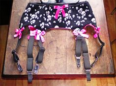 How To Make A Garter Belt #howto #tutorial