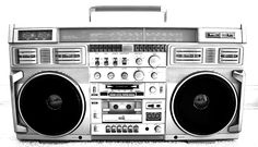 old school boombox - Google Search