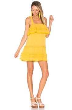 Tularosa x REVOLVE Chelsea Babydoll Dress in Marigold