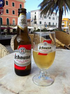 Birra Ichnusa, made in Sardinia, Italy