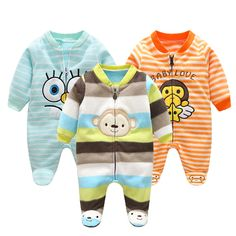 Mamas /& Papas Baby Boys Tiger /& I Jungle Zip All-in-one Romper