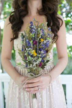 Gorgeous bouquet made of dried flowers!