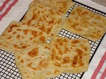 Msemen Recipe - Square-Shaped Moroccan Pancakes (Rghaif) ~ Ramadan Recipes ♥ #recipe #food #ramadan