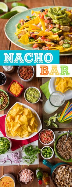 Who doesn't love a good nacho?! This DIY nacho bar will be the hit of your Cinco De Mayo party!