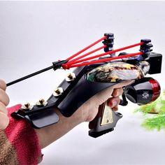 Carretel de Pesca Caça Slingshot Kit Catapulta caça Mira Laser Com Fish Arrow   Artigos esportivos, Esportes ao ar livre, Armas de pressão e atiradeiras   eBay!