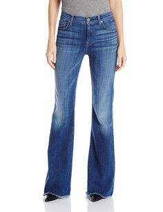 7 For All Mankind Women's Ginger with Raw Hem in Athens Broken Twill => Hurry! Check out this great product : Women clothing