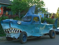 Insanely Decorated Cars and Vehicles | Cool Material Strange Cars, Weird Cars, Cool Cars, Crazy Cars, Custom Trucks, Custom Cars, Audi, Porsche, Funny Looking Cars