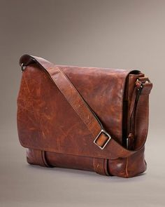 2bf688852519 Frye Logan Leather Messenger Bag