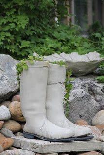 Fantastic idea for old boots.