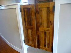 Western Style Swinging Saloon Doors Reclaimed by HistoricFlooring