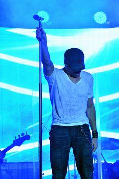 At a concert in Las Vegas on September 15, 2013.   - Cosmopolitan.com