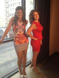 Jordan Sparks and her mom