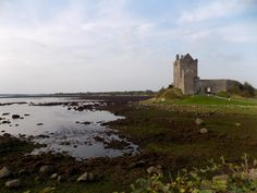 Dunguaire Castle on the west coast of Ireland near Galway