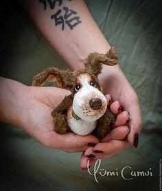 Купить Тедди щенок Скуби! - разноцветный, тедди, тедди мишка, мишка, мишка тедди, собака
