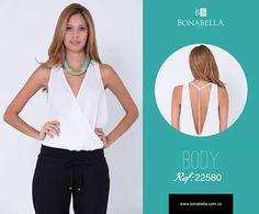 Los escotes con detalles que resalten tu feminidad te harán lucir muy sexy. Su precio aquí: http://bonabella.com.co/categoria-de-producto/nco/bodyn/