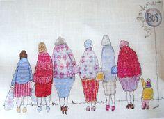 Louise Gardiner - Bus Stop Belles