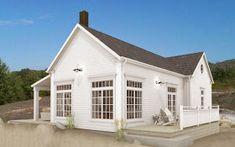 Dreams & Coffees arkitekt- och projektblogg: Fritidshus i New England stil New England Hus, New England Style, Coups, Coastal Living, Home Fashion, Porch, Shed, Loft, Cottage