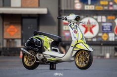 Scooter Motorcycle, Vespa Scooters, Vespa 150, Vespa Sprint, Gas And Electric, Price Book, Shopping Stores, Motorbikes, Instagram Posts