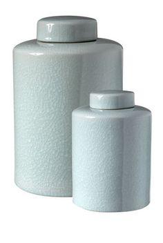 Celadon Jars - JLBrown