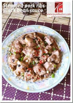 Classic Steamed Pork Ribs with Fermented Black Beans (豆豉蒸排骨 ...