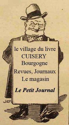 """magasin """"le petit journal"""" spécialiser en revues et journaux, au village du livre de cuisery en bourgogne"""